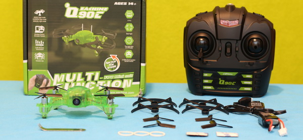 Eachine Q90C Flying Frog review: Included accessories