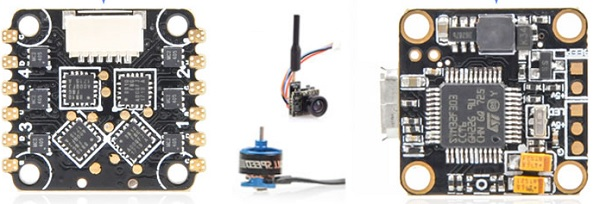 Full Speed Beebee-66 drone main parts