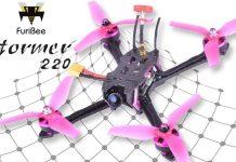 FuriBee Stormer 220mm fpv drone