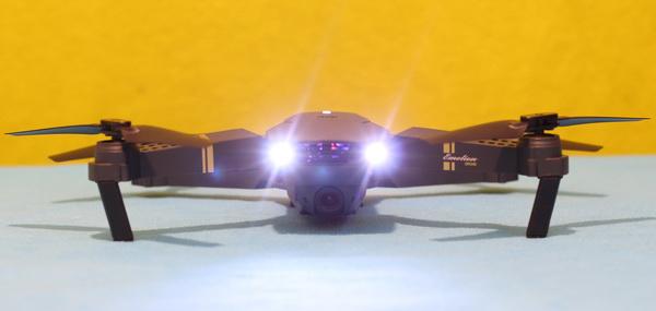 Best Starter Drone: Head LED lights for