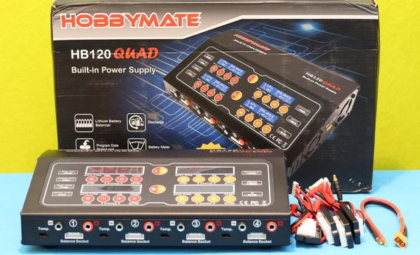 HobbyMate HB120QUAD review: Box content