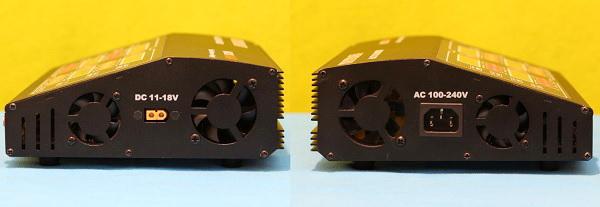 HobbyMate HB120QUAD review: Power connectors