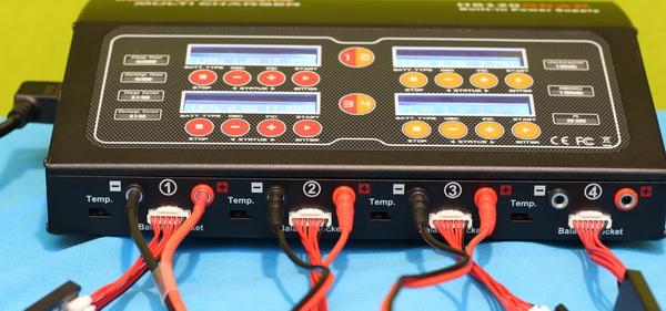 HobbyMate HB120QUAD review: Wiring