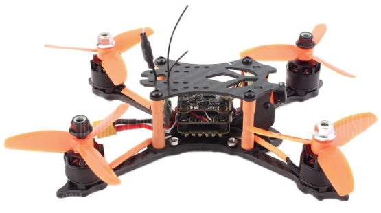 Spae wolf DT140 quadcopter side view