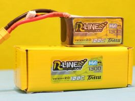 Tattu 100C R-Line HV LiPo Battery review