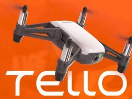 DJI Tello mini drone with 5MP camera
