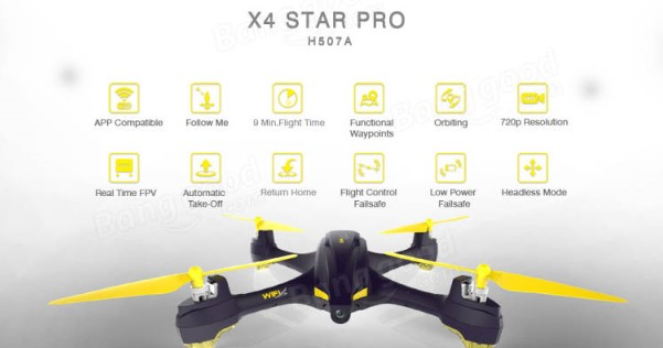 Drone deals January 2018: Hubsan H507A X4 drone