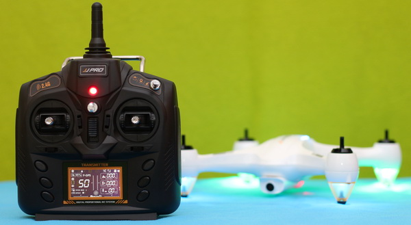 Remote controller of the Best drone (JJPRO X3 HAX) to buy under $150