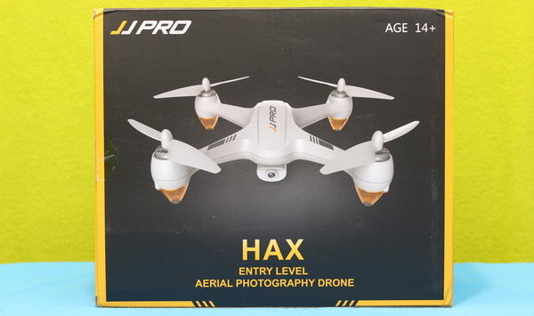 How it looks the JJPRO X3 HAX box of the best drone to buy under $150