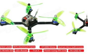 LDARC 200GT FPV drone