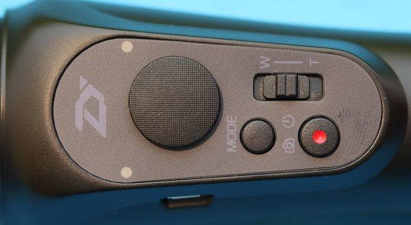 Zhiyun Smooth Q review: Controls & butons