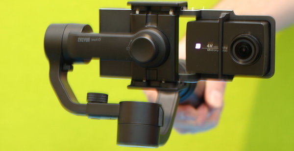Zhiyun Smooth Q review: GoPro mount adapter