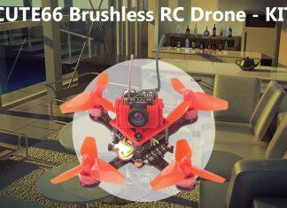 DIY Cute66 mini FPV drone