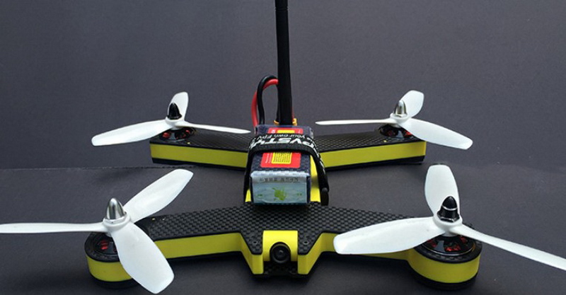 Fpvstyle Unicorn 220 Racing Quad First Quadcopter