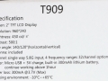 GTeng-T909-specifications