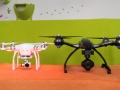 Yuneec-Q500-4k-vs-DJI-Phantom-3-front-view