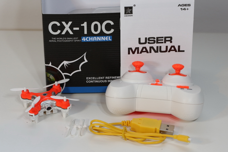 Cheerson Cx 10c Review First Quadcopter
