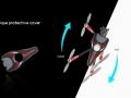 FLYCKER-X4-550-unique-design