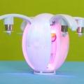 KaiDeng-K130-Egg-drone-LED-lights