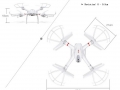 MJX-X101-quadcopter-size