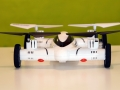 SY-X25-quadcopter-rear-view