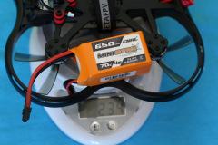 BetaFPV_Pavo30_weight_with_4S_650mAh