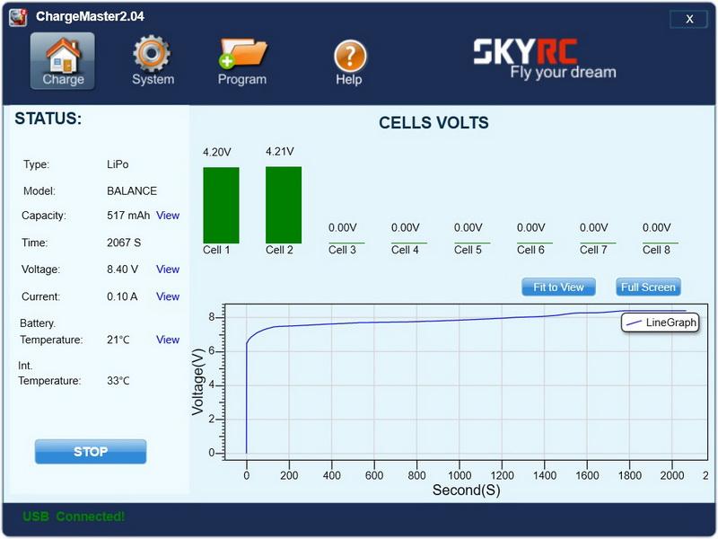 Crazepony_2s_500mAh_test_charging_voltage