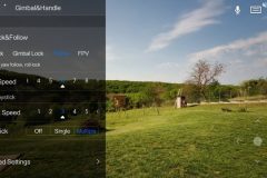FiMI_Palm_APP_FiMI_Play_Gimbal_settings