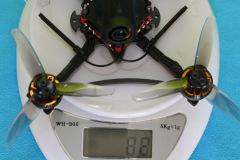 HGLRC_Petrel_120x_Pro_weight_88grams