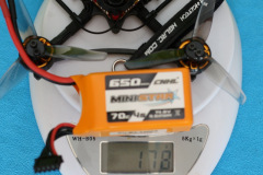 HGLRC_Petrel_120x_Pro_weight_with_4s_650mAh_battery_178gr