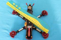 HGLRC_Sector_5_V3_size_wheelbase_218mm