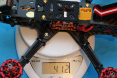 HGLRC_Sector_5_V3_weight_without_battery_and_props_412grams