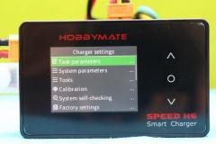 HOBBYMATE_Speed_H6_Menu_Charger_settings