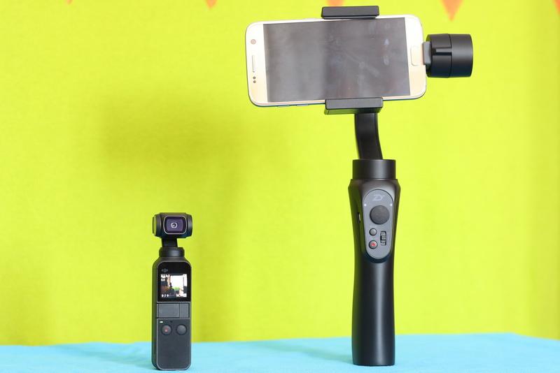 DJI_Osmo_Pocket_vs_mobile_gimbal
