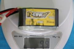 Tattu_LIPO-Rline-4s-850mAh-weight-99grams
