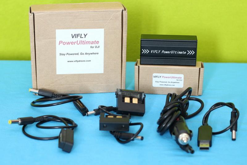 VIFLY_PowerUltimate_DJI_Charger_box_content