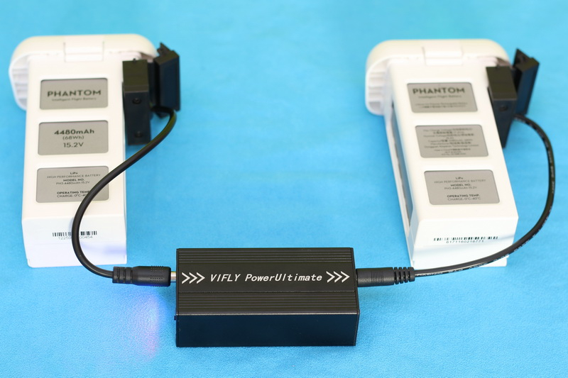 VIFLY_PowerUltimate_charging_DJI_battery_power_transfer