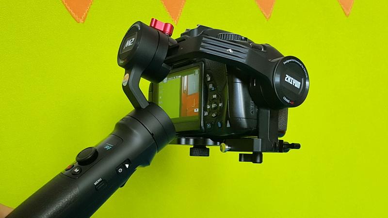 ZHIYUN_CRANE_M2_Canon_DSLR_24mm_lens