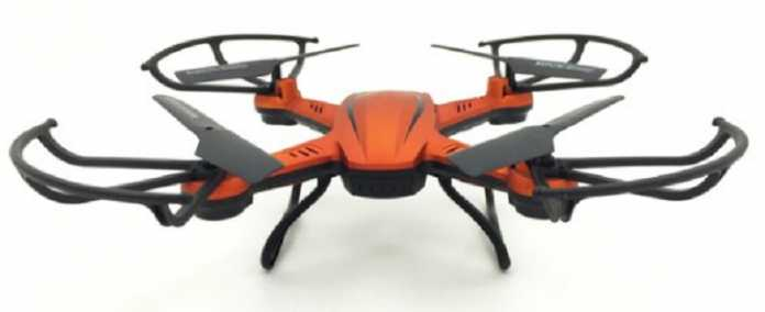 JJRC H12C quadcopter with 5MP camera
