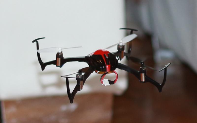 Eachine 3D X4 indoor flight test