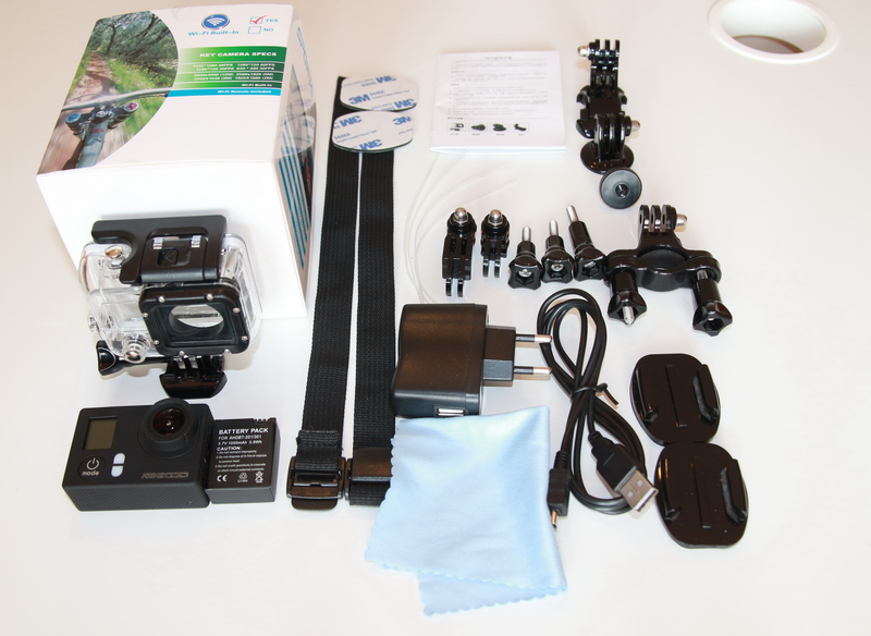 KeeCoo camera - package contents