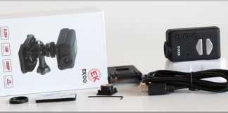 EKOO S090 quadcopter camera