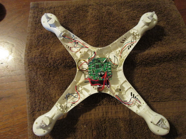 MK quadcopter Inside view