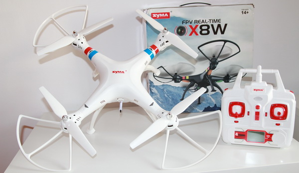 Syma X8W review and test