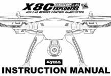 SYMA-X8C User Manual