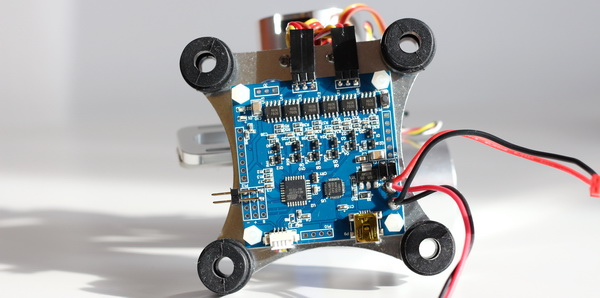 2D Gimbal controller board