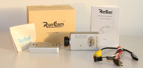 RunCam HD package contains