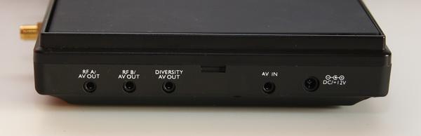 Eachine LCD5802S connectors