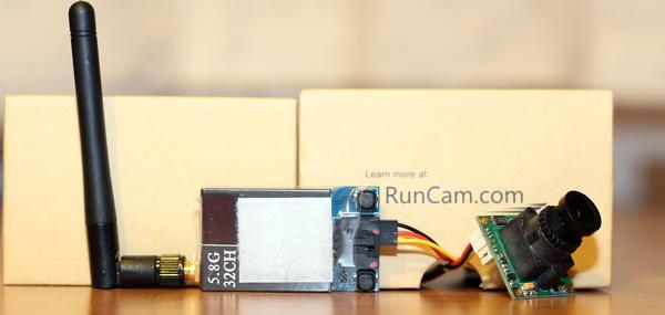 RunCam SkyPlus review - FPV setup