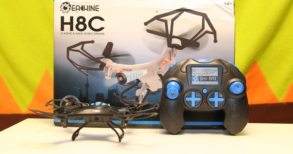 Eachine H8C mini review and test